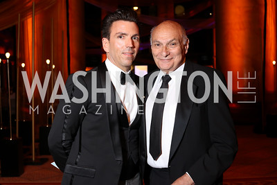 Charles Mitchum and Michael Kahn. Photo by Tony Powell. 2016 Harman Gala. Building Museum. September 25, 2016