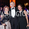 Maxine Isaacs, Stephen Weiswasser, Andrea Weiswasser. Photo by Tony Powell. 2016 Harman Gala. Building Museum. September 25, 2016