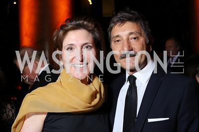 Randi and Salo Levinas. Photo by Tony Powell. 2016 Harman Gala. Building Museum. September 25, 2016