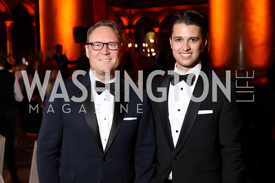 Timothy Lowery, Michael Zingali. Photo by Tony Powell. 2016 Harman Gala. Building Museum. September 25, 2016