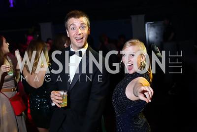 Ricky Drummond, Amy Maniscalco. Photo by Tony Powell. 2016 Helen Hayes Awards Dance Party. 9:30 Club. May 23, 2016