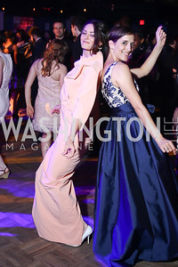 Irina kavsadze, Tori Bertocci. Photo by Tony Powell. 2016 Helen Hayes Awards Dance Party. 9:30 Club. May 23, 2016