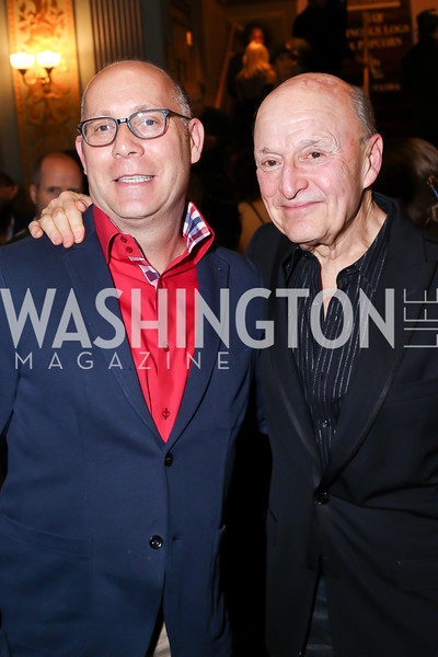 Craig Pascal and Victor Shargai. Photo by Tony Powell. 2016 Helen Hayes Awards Dance Party. 9:30 Club. May 23, 2016