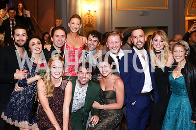 "Signature Theatre castmembers from ""Cabaret"" and ""West Side Story."" Photo by Tony Powell. 2016 Helen Hayes Awards Dance Party. 9:30 Club. May 23, 2016"