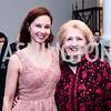 Ashley Judd, Melanne Verveer. Photo by Tony Powell. 2016 Hillary Rodham Clinton Awards Dinner. Halcyon House. February 22, 2016