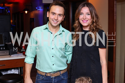 Tommy McFly, Katherine Kallinis. Photo by Tony Powell. 2016 Hope for Henry Benefit. Pinstripes. September 20, 2016