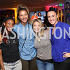 Crystal Dunn, Estelle Johnson, Vanessa Calvillo, Ashley Banek. Photo by Tony Powell. 2016 Hope for Henry Benefit. Pinstripes. September 20, 2016