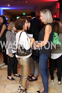 Susan Tofler, FOX 5's Laura Evans. Photo by Tony Powell. 2016 Hope for Henry Benefit. Pinstripes. September 20, 2016