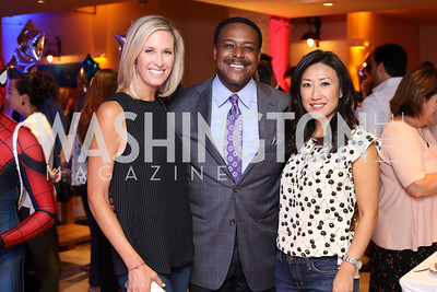 Laura Evans, Leon Harris, Eun Yang. Photo by Tony Powell. 2016 Hope for Henry Benefit. Pinstripes. September 20, 2016