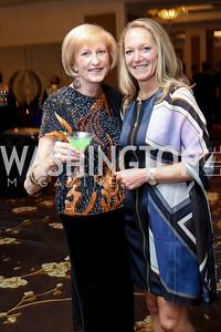 Lola Reinsch, Dr. Stephanie Akbari. Photo by Tony Powell. 2016 INOVA Honors Dinner. Ritz Carlton Tysons. September 30, 2016