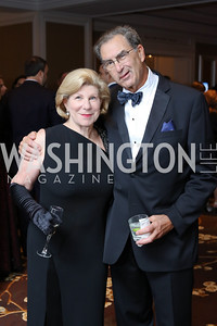 Nina Totenberg and David Reines. Photo by Tony Powell. 2016 INOVA Honors Dinner. Ritz Carlton Tysons. September 30, 2016