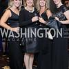 Ashley Baker, Jill Tyroler, Misty Tax, Megan Rogerson. Photo by Tony Powell. 2016 INOVA Honors Dinner. Ritz Carlton Tysons. September 30, 2016