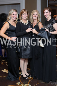 Ashley Baker, Jill Tyroler, Misty Tax, Megan Rogerson. Photo by Tony Powell. 2016 INOVA Honors Dinner. Ritz Carlton Tysons. September 30, 2016