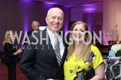 John and Bonny Fitzgerald. Photo by Tony Powell. 2016 INOVA Honors Dinner. Ritz Carlton Tysons. September 30, 2016