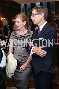 Huberta Wittig and Germany Amb. Peter Wittig. Photo by Tony Powell. 2016 ISH Global Leadership Dinner. ISH. September 8, 2016