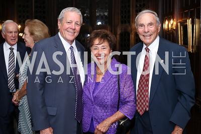John Tanner, Rep. Nita Lowey and Stephen Lowey. Photo by Tony Powell. 2016 ISH Global Leadership Dinner. ISH. September 8, 2016