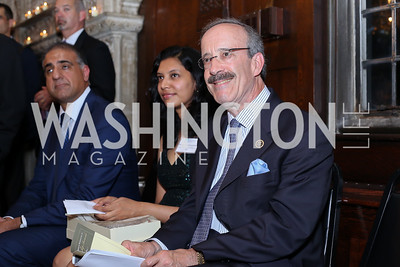 Rep. Eliot Engel. Photo by Tony Powell. 2016 ISH Global Leadership Dinner. ISH. September 8, 2016