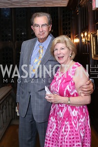 David Reines and Nina Totenberg. Photo by Tony Powell. 2016 ISH Global Leadership Dinner. ISH. September 8, 2016
