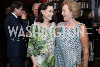 Alexandra de Borchgrave, Diane Flamini. Photo by Tony Powell. 2016 ISH Global Leadership Dinner. ISH. September 8, 2016