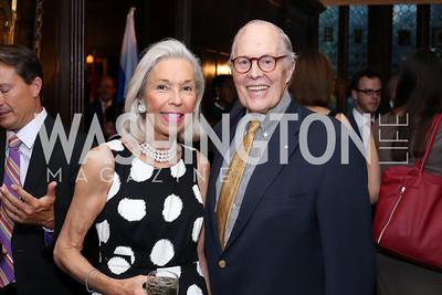 Nina and Philip Pillsbury. Photo by Tony Powell. 2016 ISH Global Leadership Dinner. ISH. September 8, 2016