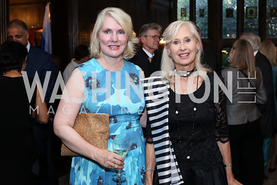 Jan Smith, Willee Lewis. Photo by Tony Powell. 2016 ISH Global Leadership Dinner. ISH. September 8, 2016