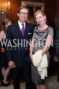 Germany Amb. Peter Wittig and Huberta Wittig. Photo by Tony Powell. 2016 ISH Global Leadership Dinner. ISH. September 8, 2016