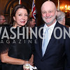 Aniko Gaal Schott, Spain Amb. Ramon Gil Casares. Photo by Tony Powell. 2016 ISH Global Leadership Dinner. ISH. September 8, 2016