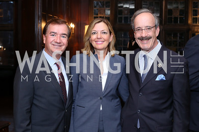 Rep. Ed Royce and Marie Royce, Rep. Eliot Engel. Photo by Tony Powell. 2016 ISH Global Leadership Dinner. ISH. September 8, 2016