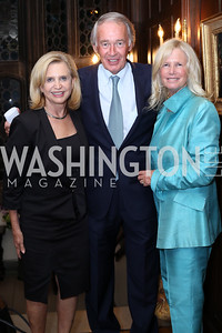 Rep. Carolyn Maloney, Sen. Ed Markey and Susan Blumenthal. Photo by Tony Powell. 2016 ISH Global Leadership Dinner. ISH. September 8, 2016
