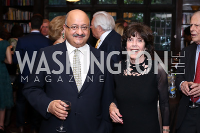 Saudi Amb. Abdullah Al Saud, Didi Cutler. Photo by Tony Powell. 2016 ISH Global Leadership Dinner. ISH. September 8, 2016