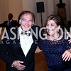 Leo Sahakian, Annie Totah. Photo by Tony Powell. 2016 Innocents at Risk Gala. OAS. April 19, 2016