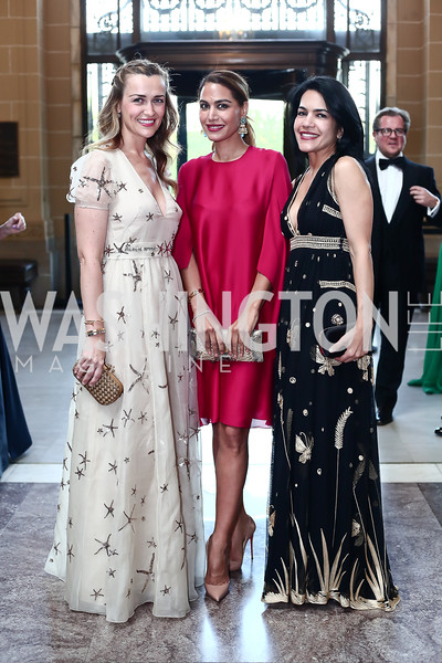 Amra Fazlic, Lara Dizeyee, Nazgol Fearnow. Photo by Tony Powell. 2016 Innocents at Risk Gala. OAS. April 19, 2016