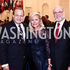 Dominican Republic Amb. José Tomás Pérez, Deborah Sigmund, Dominican Republic to the OAS Amb. Pedro Vergés Ciman. Photo by Tony Powell. 2016 Innocents at Risk Gala. OAS. April 19, 2016