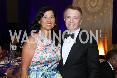 Tina and Gary Mather. Photo by Tony Powell. 2016 Hisaoka Gala. Omni Shoreham. September 17, 2016