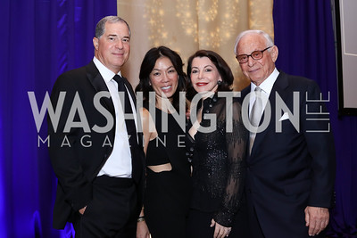 Jim and Mai Abdo, JoAnn and John Mason. Photo by Tony Powell. 2016 Hisaoka Gala. Omni Shoreham. September 17, 2016