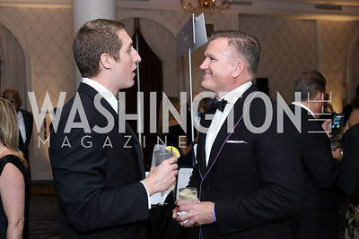 Rich Guerard, Jim Bell. Photo by Tony Powell. 2016 Hisaoka Gala. Omni Shoreham. September 17, 2016