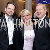 David Corson, Lyn and Mark McFadden. Photo by Tony Powell. 2016 Hisaoka Gala. Omni Shoreham. September 17, 2016