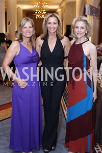 Lauren Peterson, Ami Aronson, Katherine Bradley. Photo by Tony Powell. 2016 Hisaoka Gala. Omni Shoreham. September 17, 2016