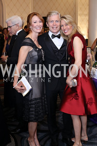 Anne Jacoboski, Dhris and Michelle Olson. Photo by Tony Powell. 2016 Hisaoka Gala. Omni Shoreham. September 17, 2016