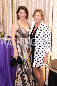 Jenny McGihon, Lisa Koches. Photo by Tony Powell. 2016 Hisaoka Gala. Omni Shoreham. September 17, 2016