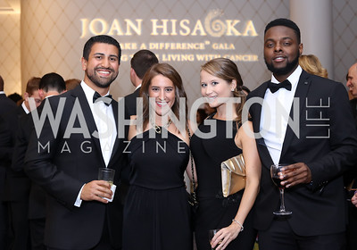 Samir Neyazi, Carlyle Abbott, Bethanie Joy, Christian Smutherman. Photo by Tony Powell. 2016 Hisaoka Gala. Omni Shoreham. September 17, 2016