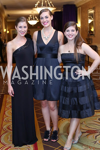 Lara Snead, Sarah Posner, Greer Donley. Photo by Tony Powell. 2016 Hisaoka Gala. Omni Shoreham. September 17, 2016