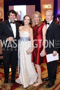 Kimbell Duncan, Michelle Kosinski, Michelle and Chris Olson. Photo by Tony Powell. 2016 Hisaoka Gala. Omni Shoreham. September 17, 2016
