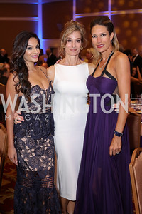 Bella Aggarwal, Karina Mallona, Sarah Kimsey. Photo by Tony Powell. 2016 Hisaoka Gala. Omni Shoreham. September 17, 2016