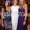 Bella Aggarwal, Karina Mallona, Sarah Kimsey. Photo by Tony Powell. 2016 Hisaoka Gala. Omni Shoreham. September 17, 2016