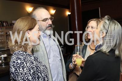 Jenny Springer, Michael Cantor, Lisa Sterling, Liz Barratt-Brown. Photo by Tony Powell. 2016 Kara Kennedy Brunch. November 13, 2016