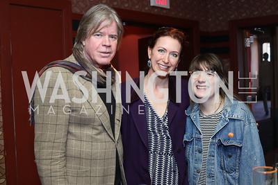 Chris Murray, Carlotta Hester, Grace Allen. Photo by Tony Powell. 2016 Kara Kennedy Brunch. November 13, 2016