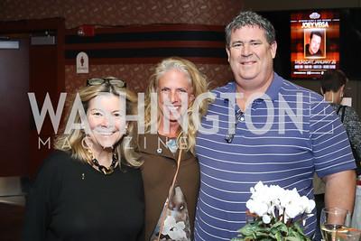 Linda Donovan, Judy Acosta, Ed Semans. Photo by Tony Powell. 2016 Kara Kennedy Brunch. November 13, 2016