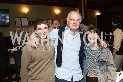 Max, Michael, and Grace Allen. Photo by Tony Powell. 2016 Kara Kennedy Brunch. November 13, 2016