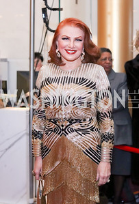 Georgette Mosbacher. Photo by Tony Powell. 2016 Kennedy Center Honors Red Carpet. December 4, 2016